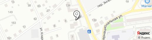 КРЕМЕНЬ на карте Сыктывкара