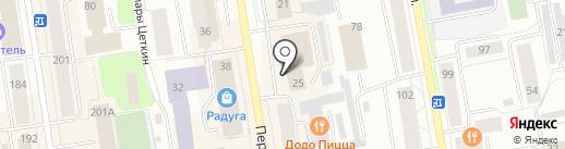 Sreda на карте Сыктывкара