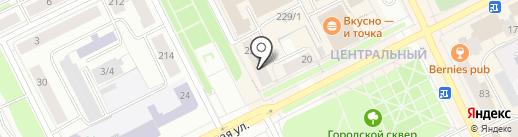 Угрюмов Р.Ю. на карте Сыктывкара