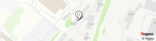 ПрофиЛес на карте Сыктывкара