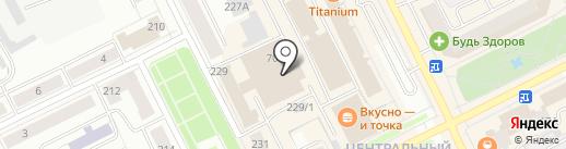 Маяковский на карте Сыктывкара