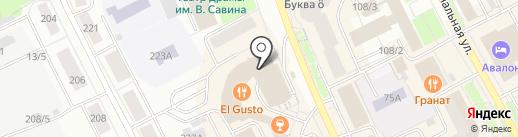 Росземля.рф на карте Сыктывкара