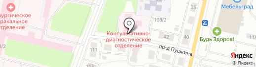 Республиканский центр по профилактике и борьбе со СПИДом и инфекционными заболеваниями на карте Сыктывкара