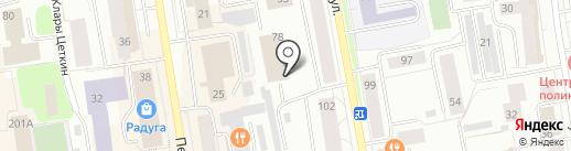 Карамель на карте Сыктывкара