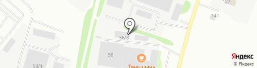 Gaztuning43.ru на карте Сыктывкара
