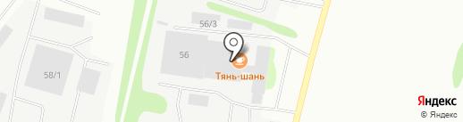 Проект Студия на карте Сыктывкара