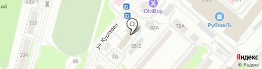 Коми энергосбытовая компания на карте Сыктывкара