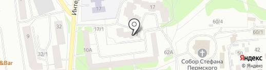 Медиком на карте Сыктывкара