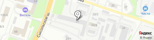 Гермес-Авто на карте Сыктывкара