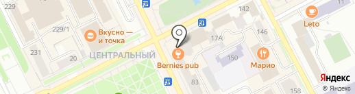 Маяк на карте Сыктывкара