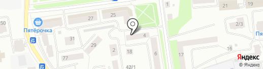 Компания на карте Сыктывкара
