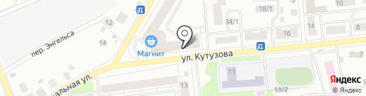 Чистоход на карте Сыктывкара
