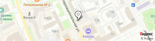 Фортуна на карте Сыктывкара