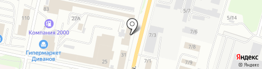 ТехноНИКОЛЬ на карте Сыктывкара