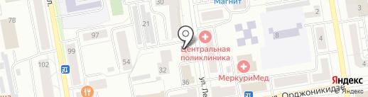 Отличные наличные на карте Сыктывкара