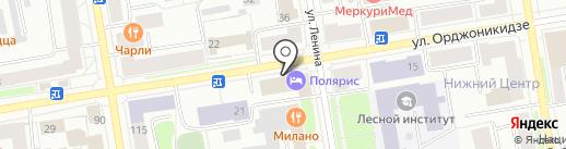 СНС апартаменты на карте Сыктывкара