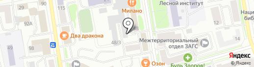 Русская печь на карте Сыктывкара