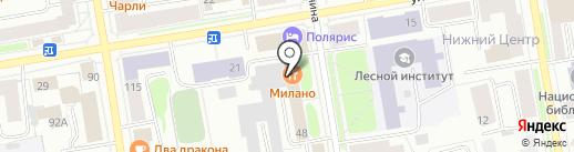 AvtoRain на карте Сыктывкара