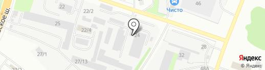 Kislorod Designe на карте Сыктывкара