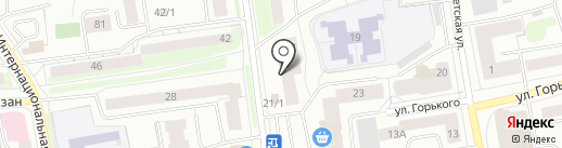 Служба по ремонту обуви на карте Сыктывкара