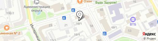 ПРОКАТ АВТО 11rus на карте Сыктывкара