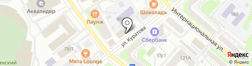 Русские узоры на карте Сыктывкара