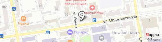 Связной на карте Сыктывкара