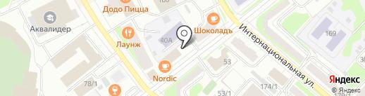 Федерация спортивной стрельбы Республики Коми на карте Сыктывкара