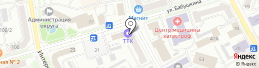 21 век на карте Сыктывкара
