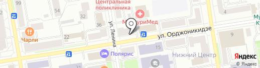 КОНКУРЕНТ на карте Сыктывкара