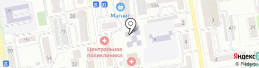 Технологический лицей на карте Сыктывкара
