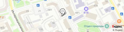 Eva-тур на карте Сыктывкара