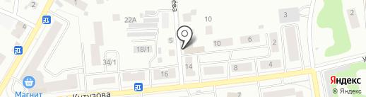 Графракофф на карте Сыктывкара