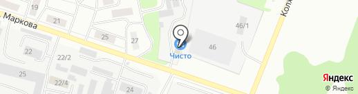 РомСон на карте Сыктывкара