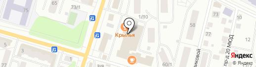 Буфет от столовой Бистро на карте Сыктывкара