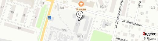 ФанерКо на карте Сыктывкара
