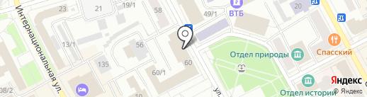 Почта России, ФГУП на карте Сыктывкара