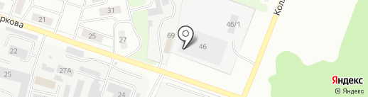 Чисто на карте Сыктывкара