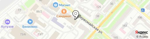 Адвокат Попов М.В. на карте Сыктывкара