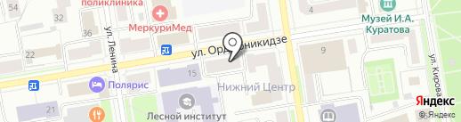 БОГАТЫРЬ АВИС на карте Сыктывкара