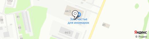 Строительная индустрия на карте Сыктывкара
