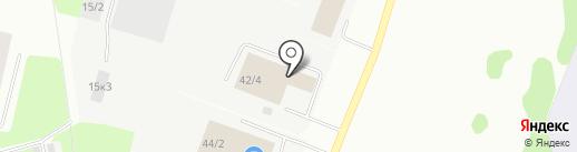 МАЗ Коми на карте Сыктывкара
