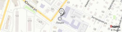 Технический лицей на карте Сыктывкара