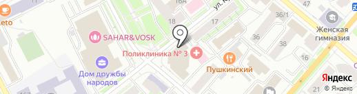 Служба Республики Коми по тарифам на карте Сыктывкара