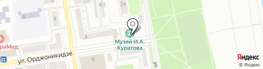 Литературный музей им. И.А. Куратова на карте Сыктывкара