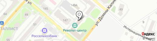 PR Holding на карте Сыктывкара