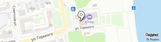 Мои документы на карте Сыктывкара
