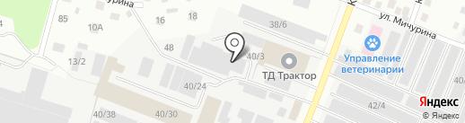 Эко-Комплекс на карте Сыктывкара