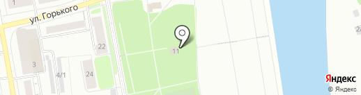 Забава на карте Сыктывкара