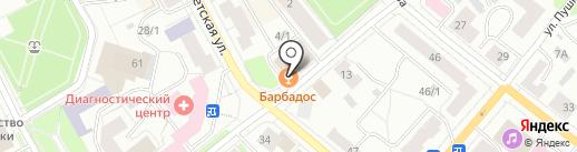 Анкер макс на карте Сыктывкара